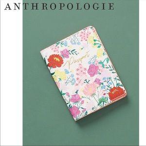 Anthropologie Dahlia Passport Holder